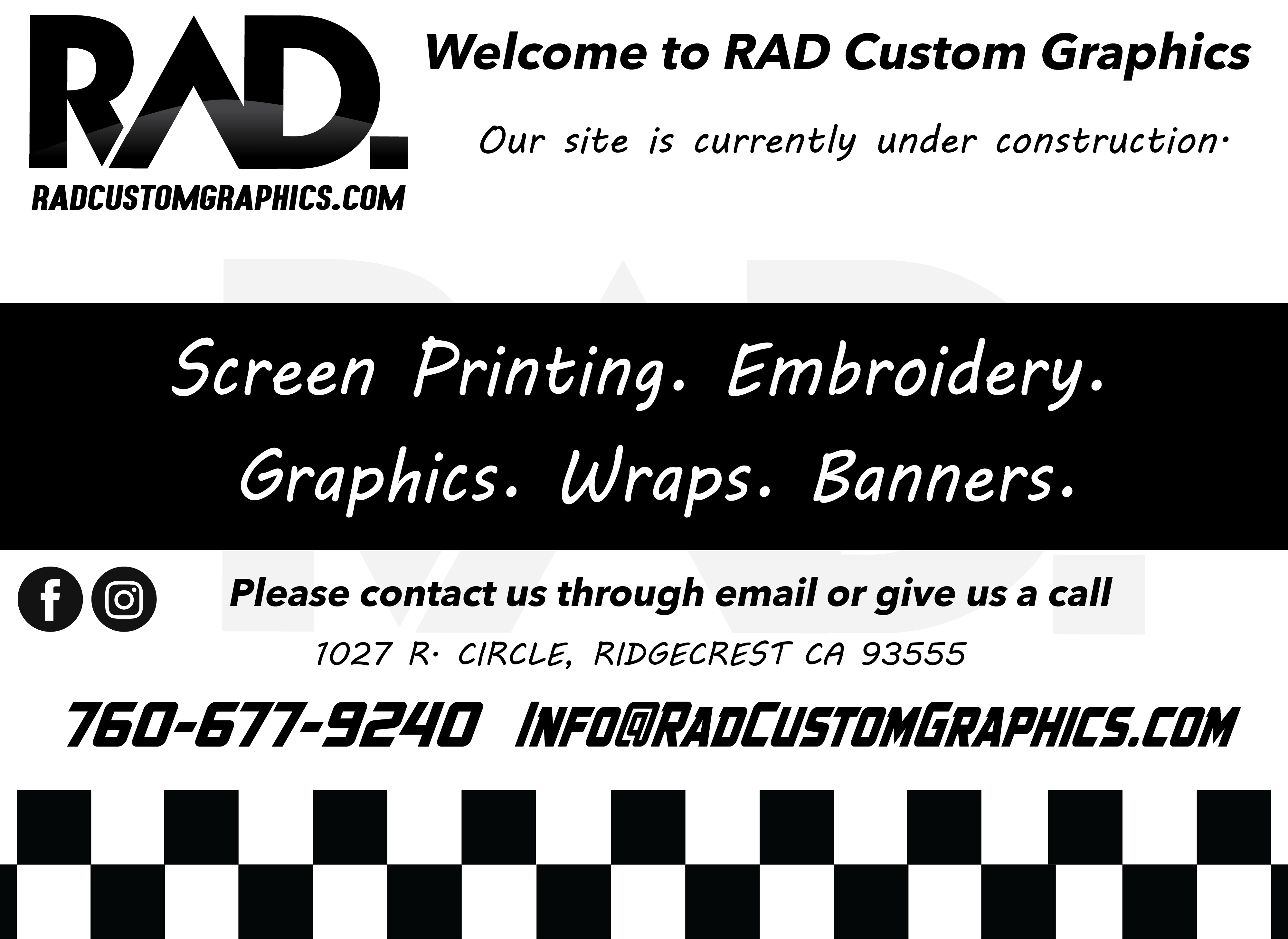 Rad Custom Graphics